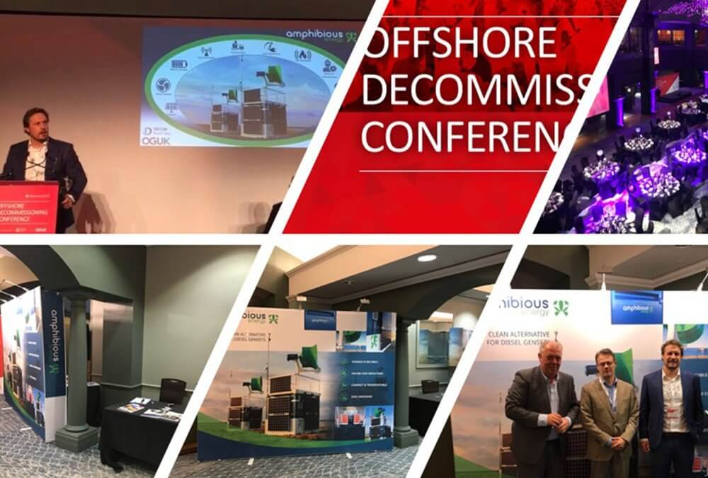 Amphibious Energy exhibit at Offshore Decom Conference 2019