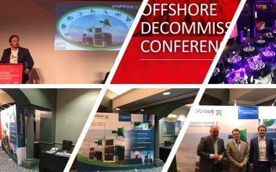 Amphibious Energy exhibit at Offshore Decom Conference 2019