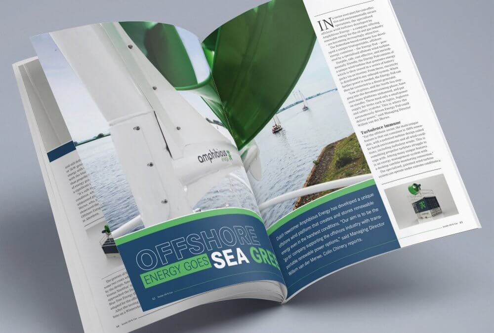 Amphibious Energy Editorial in Inside Oil & Gas