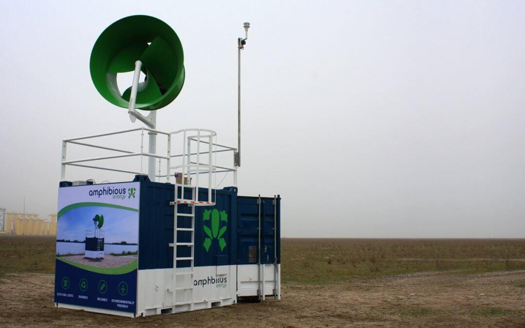 Hybrid EnergyPod at Port of Rotterdam
