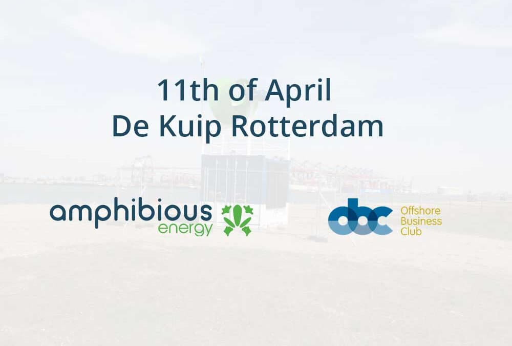 Amphibious Energy speaking at the Offshore Business Club