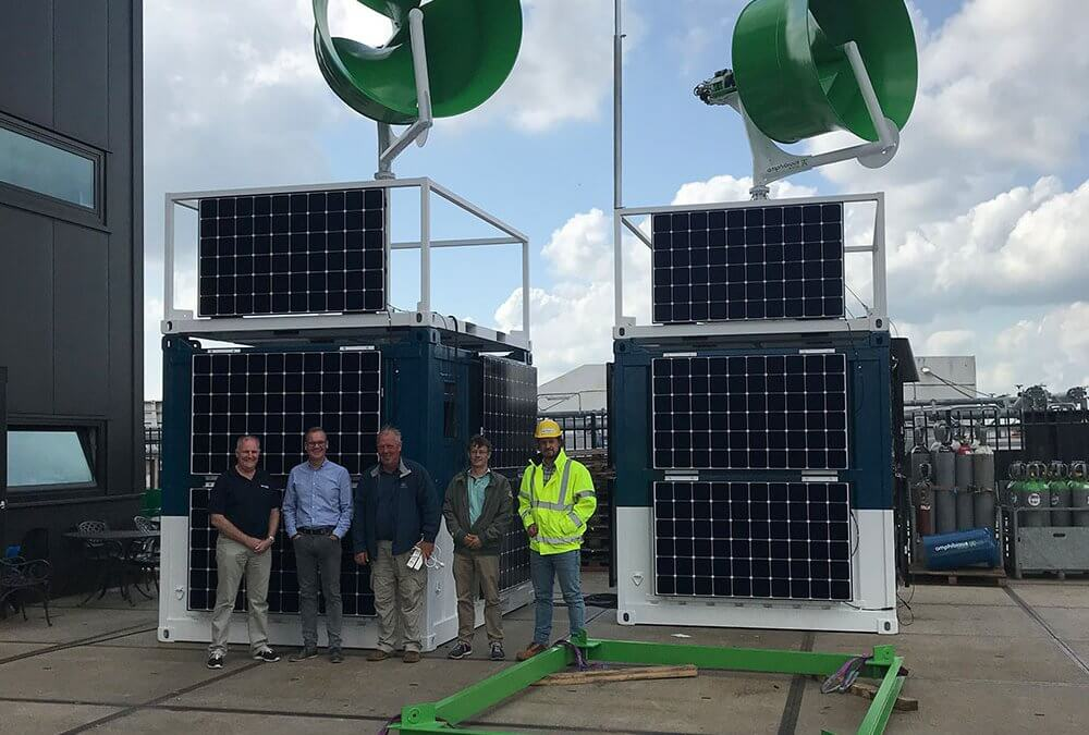 EnergyPods successfully pass Factory Acceptance Test